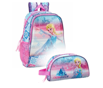 Disney Frozen Backpack Set Ice Magic - Backpack and Pouch