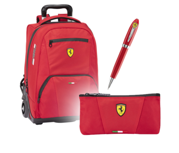 Ferrari Complete Set Premium - Trolley + Case + Pen