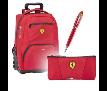 Ferrari Komplettset Premium - Trolley + Case + Pen