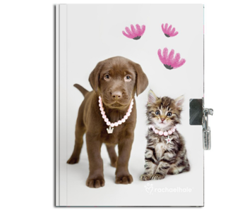 Rachael Hale Diary Puppy and Kitten 20.5 cm