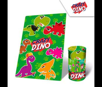 Dinosaurus Fleece blanket Crazy Dino 100 x 150 cm