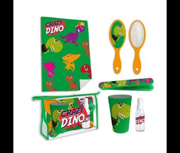 Dinosaurus Ensemble de voyage de toilette Crazy Dino - 6 pièces