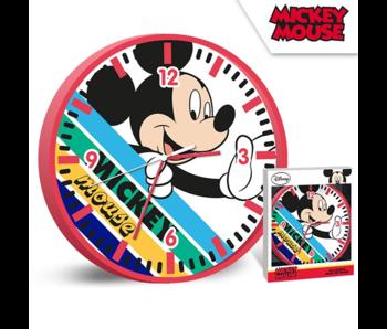 Disney Mickey Mouse Horloge murale Stripes - ø 24 cm