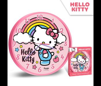 Hello Kitty Wanduhr Regenbogen - ø 24 cm