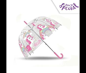 Unicorn Regenbogenschirm - ø 72 cm