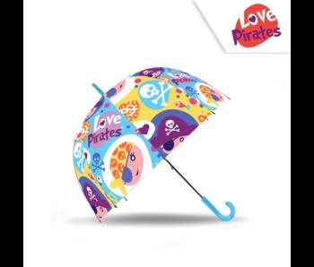 Piraten Paraplu Love Pirates - ø 73 cm