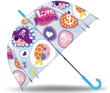 Piraten Paraplu Love Pirates - ø 70 cm