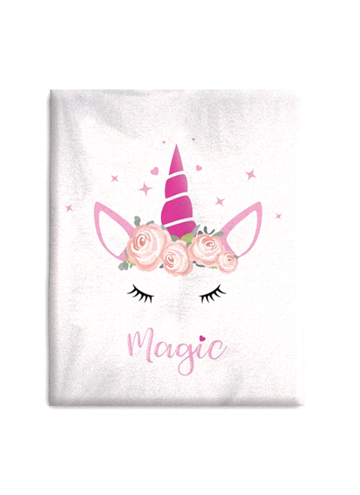Unicorn Fleece blanket Magic 130 x 160 cm