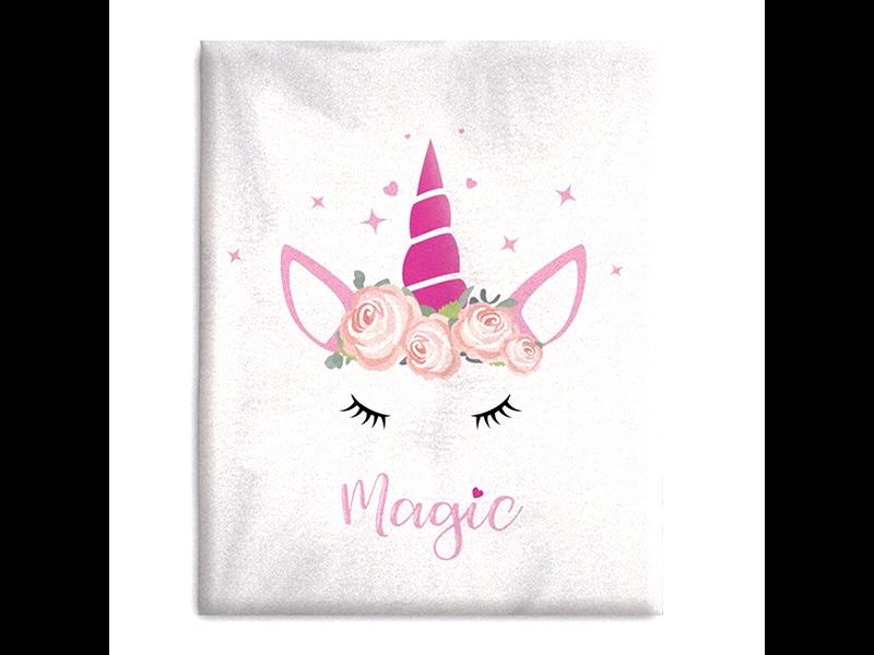 Unicorn Fleece blanket Magic - 130 x 160 cm - Polyester