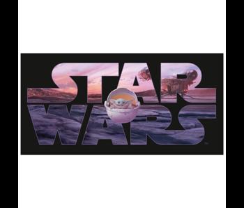Star Wars Beach towel Mandalorian 70 x 140 cm