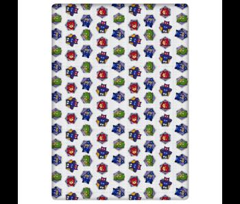 PJ Masks Hoeslaken Hexagon 90 x 200 Flanel