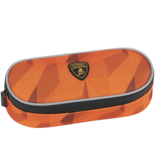 Lamborghini Etui Oranje - 22 x 9 x 6 cm - Polyester