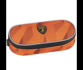 Lamborghini Trousse à crayons Orange 22 cm