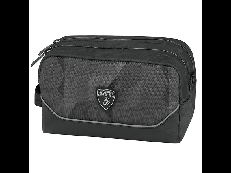 Lamborghini Toilettas Zwart - 20 x 12 x 12 cm - Polyester
