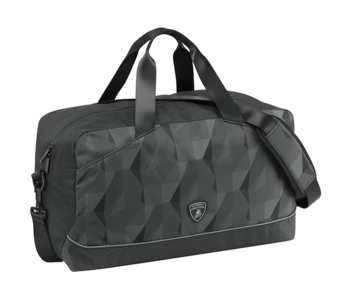 Lamborghini Travel bag Black 50 cm