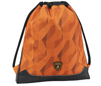 Lamborghini Gymbag Oranje 42 cm