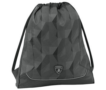 Lamborghini Gymbag Black 42 cm