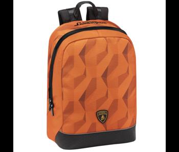 Lamborghini Rugzak Oranje 40 cm