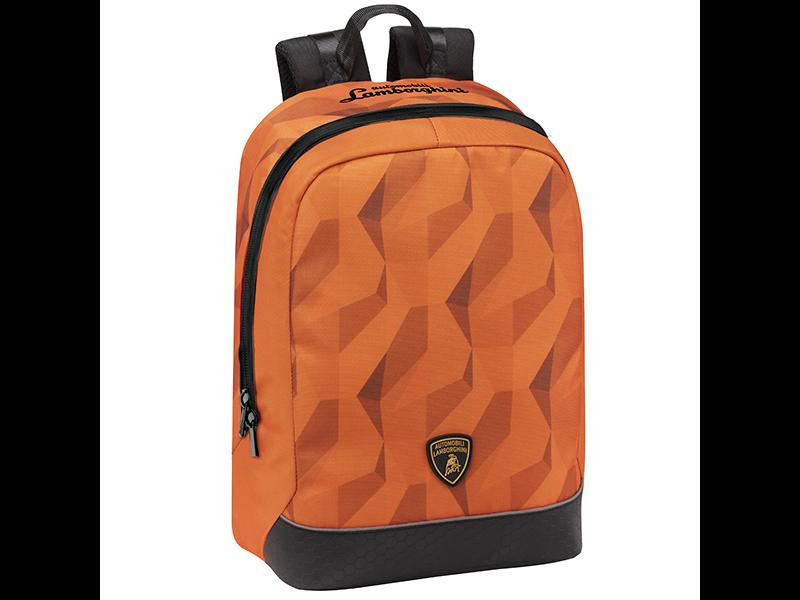 Lamborghini Rugzak Oranje - 40 x 35 x 15 cm - Polyester