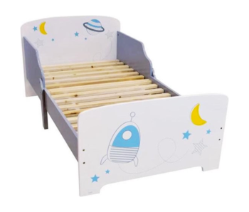 Space Toddler Bed Moon 70 x 140 cm