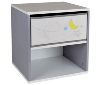 Space Bedside table Moon 36 x 33 x 30 cm