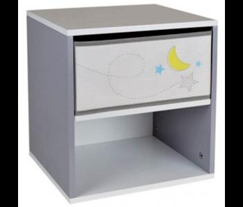 Space Nachtkastje Maan 36 x 33 x 30 cm