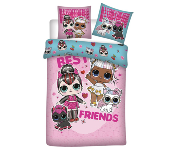LOL Surprise! Dekbedovertrek Best Friends 140 x 200 Flanel