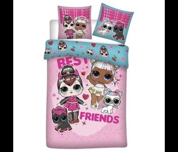 LOL Surprise! Housse de couette Best Friends 140 x 200 Flanelle