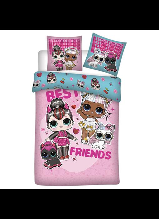 LOL Surprise! Dekbedovertrek Best Friends 140 x 200 Flanel