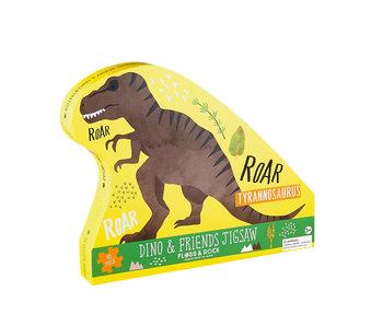 Floss & Rock Puzzle de dinosaure 40 pcs.