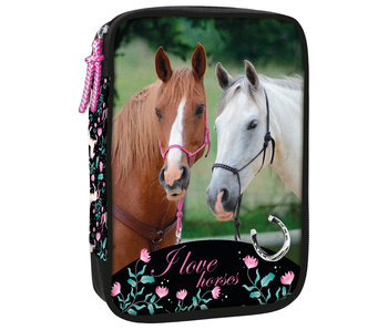 Animal Pictures Gevuld Etui Paarden 29 st.