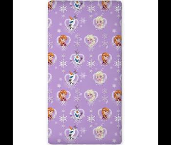 Disney Frozen Spannbetttuch Elsa Anna Olaf 90 x 200