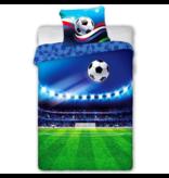 Voetbal Dekbedovertrek Stadium - Eenpersoons - 140 x 200 cm - Katoen