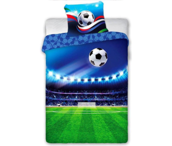 Voetbal Dekbedovertrek Stadion 140 x 200
