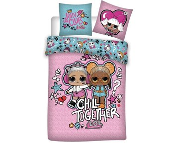 LOL Surprise! Housse de couette Chill Together 140 x 200 Polyester