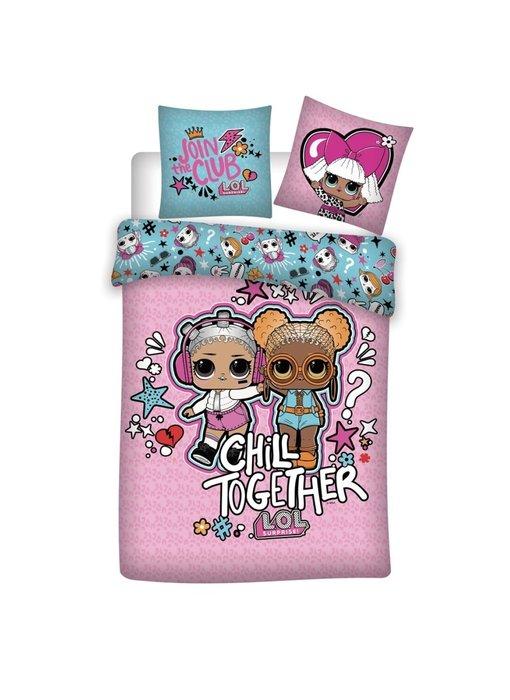 LOL Surprise! Dekbedovertrek Chill Together 140 x 200 Polyester