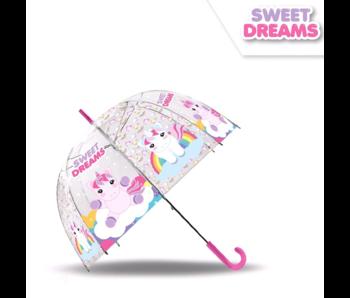 Unicorn Paraplu Sweet Dreams - ø 69 cm
