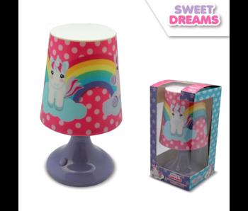 Unicorn Tischlampe 18 cm