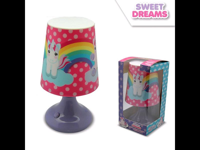 Unicorn Table lamp - 18 cm - Purple