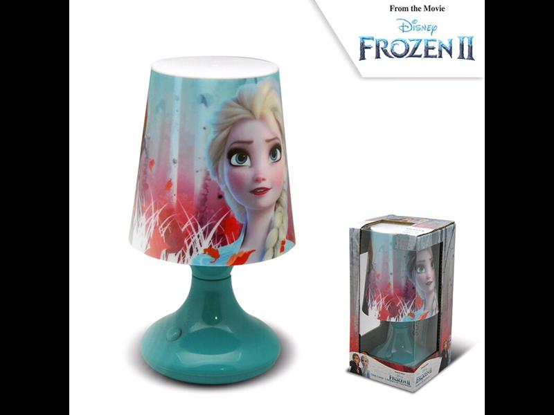 Disney Frozen Tafellamp - 18 cm - Blauw