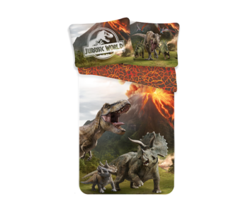 Jurassic World Bettbezug Eruption 140 x 200