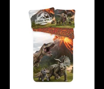 Jurassic World Dekbedovertrek Eruption 140 x 200