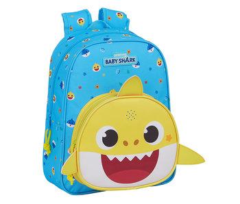 Baby Shark Sac à dos avec musique 33 cm