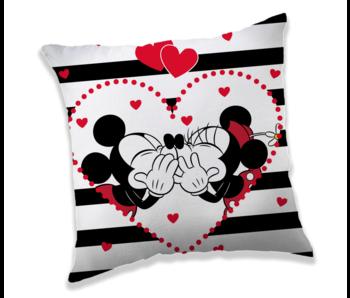 Disney Minnie & Mickey Mouse Coussin Kiss 40 x 40 cm