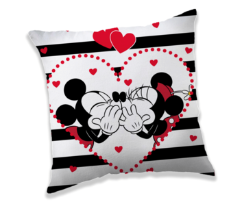 Disney Minnie & Mickey Mouse Cushion Kiss 40 x 40 cm