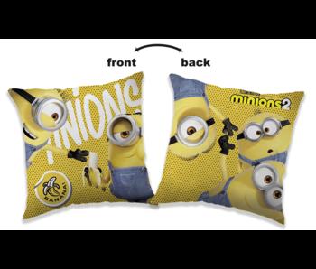 Minions 2 Bananas cushion 40 x 40 cm
