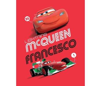Disney Cars Fleece deken Lightning McQueen 100 x 150 cm