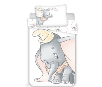 Disney Dumbo BABY Dekbedovertrek Shy 100 x 135 cm