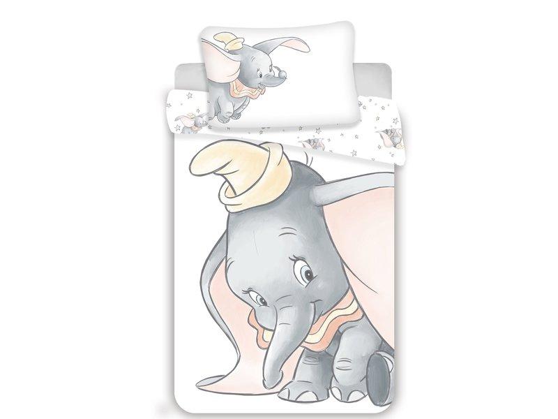 Disney Dumbo Housse de couette BABY Shy - 100 x 135 cm - Coton