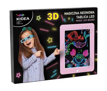 Kidea Écran de dessin 3D rose
